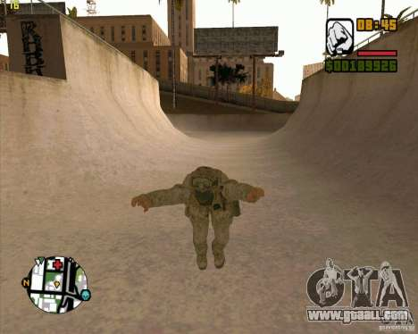Parkour discipline beta 2 (full update by ACiD) for GTA San Andreas second screenshot