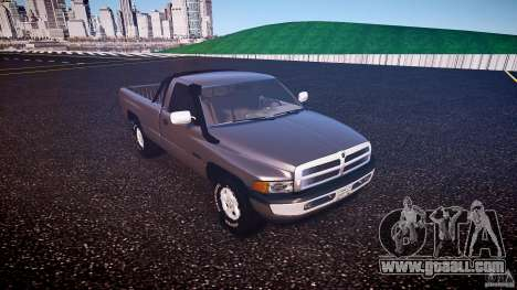 Dodge Ram 2500 1994 for GTA 4 left view