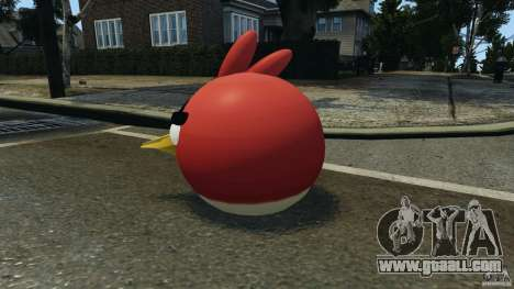 Angry Bird Ped for GTA 4 second screenshot