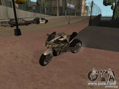 TLaD Double T Custom for GTA San Andreas left view