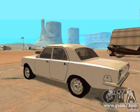 GAZ Volga 2410 Hot Road for GTA San Andreas back view
