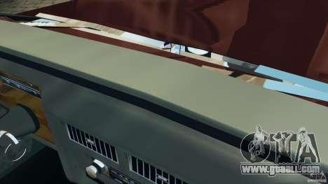 Cadillac Fleetwood Brougham Delegance 1986 for GTA 4 interior