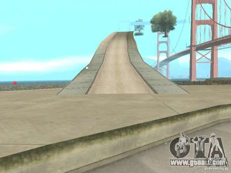 New Drift Track SF for GTA San Andreas forth screenshot