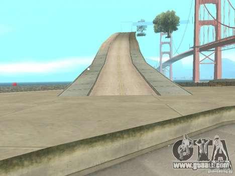 New Drift Track SF for GTA San Andreas forth screenshot