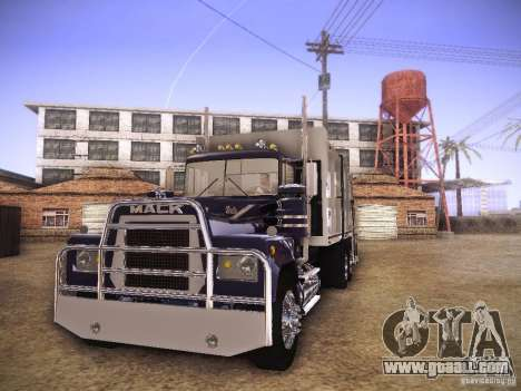 Mack RS700 1970 Trashmaster for GTA San Andreas left view