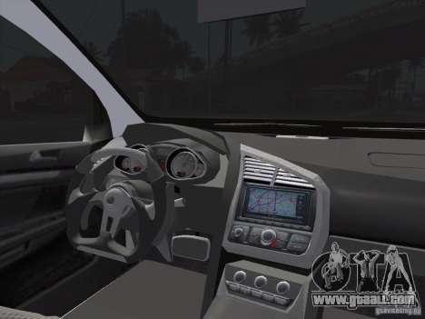 Volkswagen Golf V R32 Custom for GTA San Andreas back left view