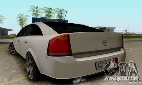 Opel Vectra C 2005 for GTA San Andreas left view