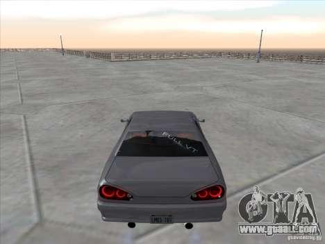 Elegy Full VT v1.2 for GTA San Andreas back left view