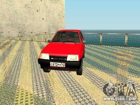 VAZ 2109 v2 for GTA San Andreas left view