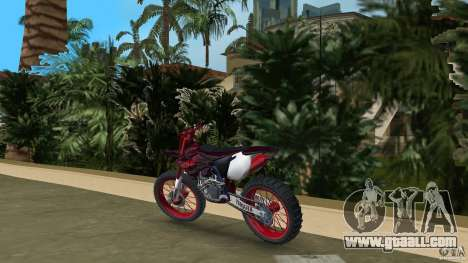 Yamaha v.2 for GTA Vice City back left view