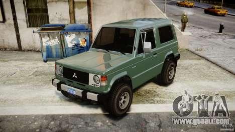 Mitsubishi Pajero I [Final] for GTA 4 right view