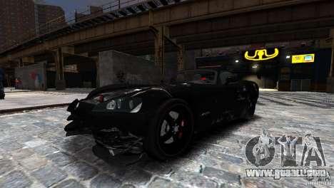 Dodge Viper SRT-10 ACR 2009 for GTA 4 inner view