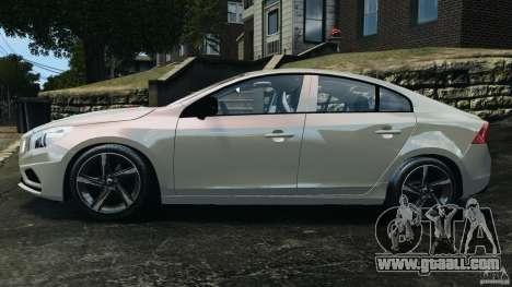 Volvo S60 R Design for GTA 4 left view