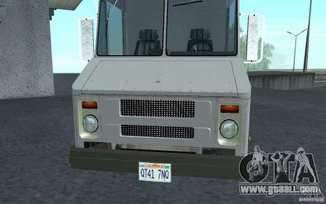 Chevrolet Step Van 30 (1988) for GTA San Andreas left view