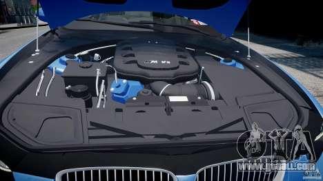 BMW M3 E92 2008 v.2.0 for GTA 4 bottom view