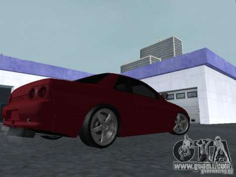 Nissan Skyline R32 Classic Drift for GTA San Andreas right view