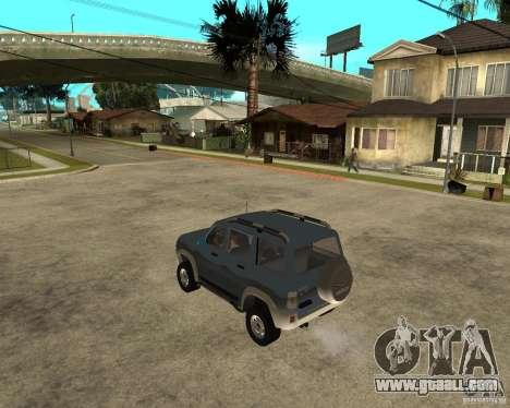 UAZ Patriot 4 x 4 for GTA San Andreas left view