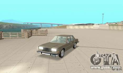 Dodge Diplomat 1985 v2.0 for GTA San Andreas