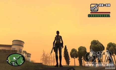 The new military girl for GTA San Andreas third screenshot