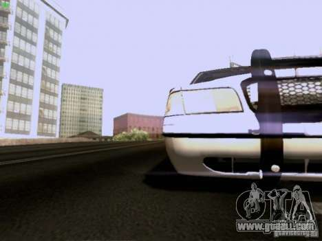 Ford Crown Victoria Canadian Mounted Police for GTA San Andreas inner view