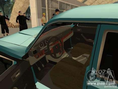 Volga GAZ 24-10 for GTA San Andreas back view