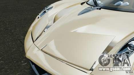 Pagani Huayra 2011 v1.0 [EPM] for GTA 4 wheels