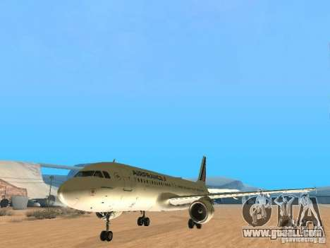 Airbus A320 Air France for GTA San Andreas