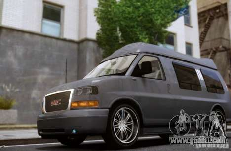 GMC Savana for GTA 4 side view