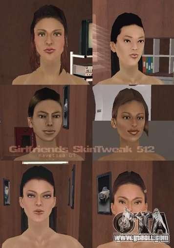 Reteksturizaciâ characters for GTA San Andreas eighth screenshot