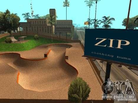 New SkatePark v2 for GTA San Andreas ninth screenshot