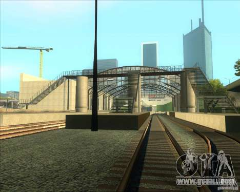 The high platforms at railway stations for GTA San Andreas third screenshot
