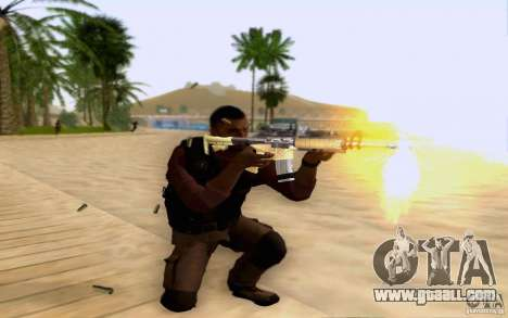 Salazar in the civil for GTA San Andreas third screenshot