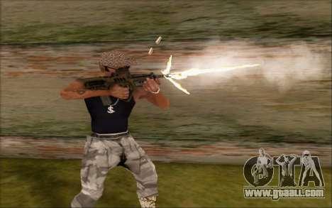 Tavor ctar-21 from WarFace v2 for GTA San Andreas