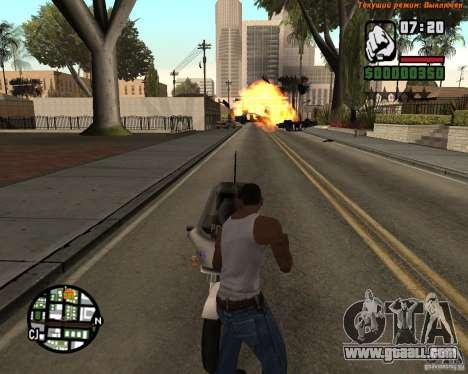 Super kick for GTA San Andreas forth screenshot