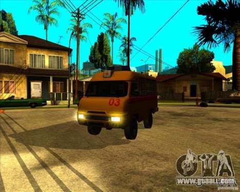 UAZ 3962 Medical for GTA San Andreas