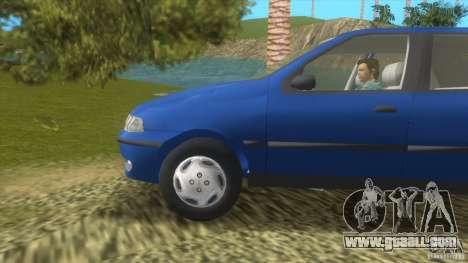 Fiat Palio for GTA Vice City left view
