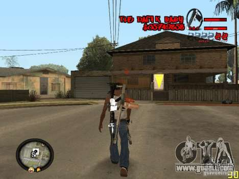 Hud by Dam1k for GTA San Andreas