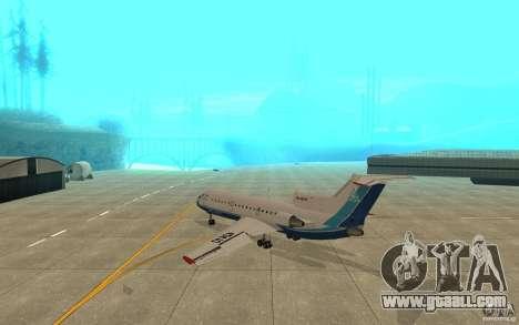 Yak-42 d Scat (Kazakhstan) for GTA San Andreas right view