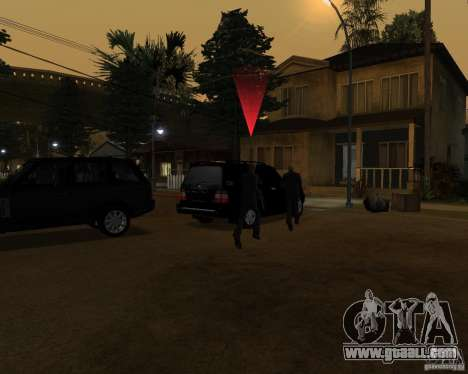 Protection on a jeep for GTA San Andreas third screenshot