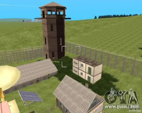 Base Gareli for GTA San Andreas second screenshot