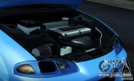 Mitsubishi Eclipse GSX 1999 for GTA San Andreas