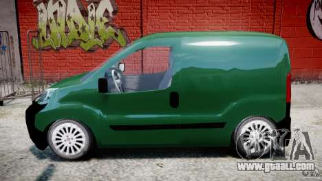 Fiat Fiorino 2008 Van for GTA 4 left view