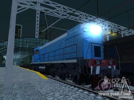 RAILROAD modification III for GTA San Andreas seventh screenshot