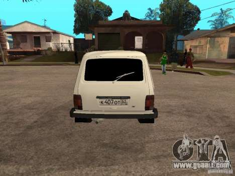 VAZ 2131 for GTA San Andreas right view