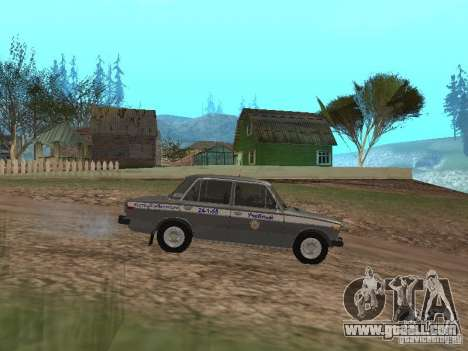 VAZ 21063 Academic for GTA San Andreas left view
