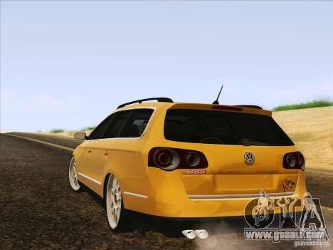 Volkswagen Passat B6 Variant for GTA San Andreas interior