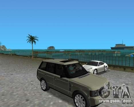 Rang Rover 2010 for GTA Vice City