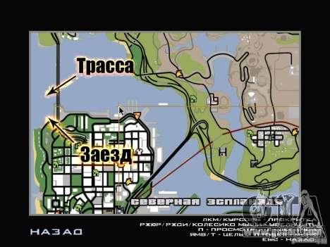 New Drift Track SF for GTA San Andreas ninth screenshot