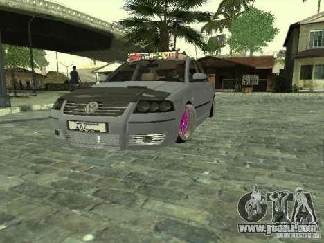 VW Passat B5 Dope for GTA San Andreas right view