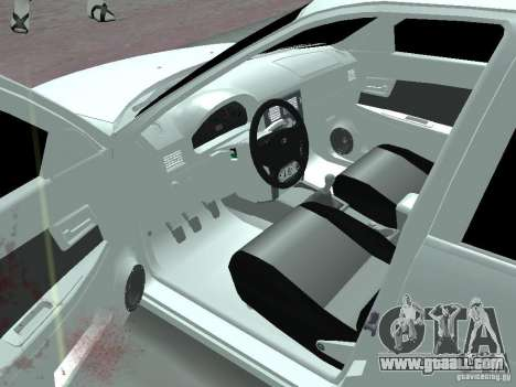 Lada Priora Adidas for GTA San Andreas left view